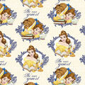 Disney Beauty & the Beast Cotton Fabric-Be Our Guest