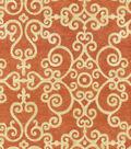 P/K Lifestyles Multi-Purpose Decor Fabric 54\u0022-Tendril/Chili