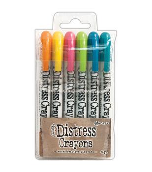 Tim Holtz Distress Crayon Set-Set #1