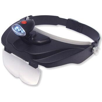 Carson Optical MagniVisor Deluxe Head Visor/Magnifier