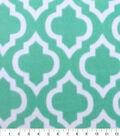Blizzard Fleece Fabric 59\u0022-Dreamy Moroccan Tile Aqua
