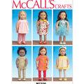 McCall\u0027s Crafts Doll Clothes-M7336
