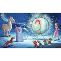 York Wallcoverings Pre Pasted Mural-Cinderella Carriage