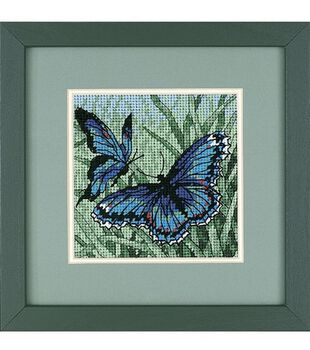 Dimensions Mini Needlepoint Kit-Butterfly Duo