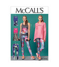 McCall\u0027s Pattern M7446 Misses\u0027 Jacket & Tank Tops, Tunic & Leggings