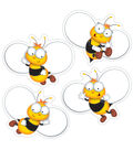 Buzz Worthy Bees Colorful Cut Outs 45/pk, Set Of 6 Packs