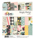 Simple Stories I Am 24 Sheets 6\u0027\u0027x8\u0027\u0027 Double-sided Paper Pad