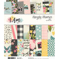 Simple Stories I Am 24 Sheets 6\u0027\u0027x8\u0027\u0027 Double-sided Paper Pad