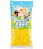 Perler Beads 6000 Bead Bag-Yellow, , hi-res