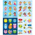 Carson Dellosa Girls Prize Pack Sticker Set 4 Packs