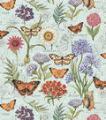 Premium Cotton Fabric-Butterfly Floral