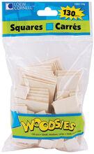 Woodsies Shapes 130/Pkg-Squares, , hi-res