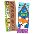 Camp Out With A Good Book Bookmark, 30 Per Pack, 6 Packs