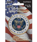 Pioneer Military Medallion Embellishments-Air Force