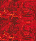 Wide Flannel Fabric 108\u0022-Red Marble
