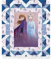 Disney Frozen 2 Fabric Panel-Faux Quilt, , hi-res