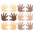 Trend Enterprises, Inc. Hands Accents Variety Pack, 36 Per Pack, 3 Packs