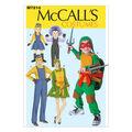 McCall\u0027s Pattern M7214 Adults\u0027 & Childrens\u0027 Character Costumes