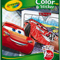 Crayola 10\u0027\u0027x8.5\u0027\u0027 Disney Pixar Cars 3 Color & Sticker Book