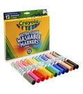 Crayola Broad Line Washable Markers-12PK