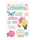 3D Stickers-Mom