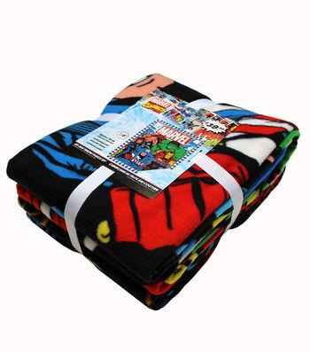 Marvel No Sew Throw Fleece Kit-Classic