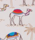 Anti-Pill Fleece Fabric -Desert Camels