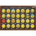 Smart Poly Spanish Classroom Charts 13\u0022x19\u0022 Set of 7