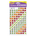 Totally Buggy superShapes Stickers 800 Per Pack, 12 Packs