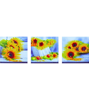 Diamond Dotz Diamond Embroidery Facet Art Kit 59''X19.75''-Sunflower Day
