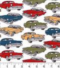 Snuggle Flannel Fabric -Classic Cars