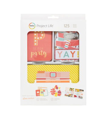 Project Life Sprinkles Cards & Die-Cuts with Glitter Value Kit