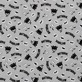 Batman Cotton Fabric-Bam Pow