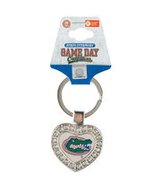 University of Florida Gators Heart Keychain, , hi-res