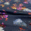 Sportswear Denim Fabric -Multi-Colored Floral