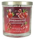 Hudson 43 Candle & Light 14 oz. Pomegranate Fizz Scented Jar Candle