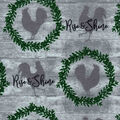 Snuggle Flannel Fabric-Roosters, Rise & Shine