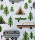 Snuggle Flannel Fabric 42\u0022-Camping Trip