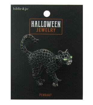 hildie & jo Halloween Pin-Black Cat