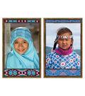 All Kinds of Kids: International Bulletin Board Set, 2 Sets