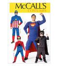 McCall\u0027s Pattern M7002-Men/Boy Super Hero Costumes