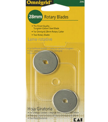 Omnigrid 28mm Rotary Cutter Blades 2Ct