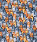 Novelty Cotton Fabric 43\u0022-Happy Neutral Cats
