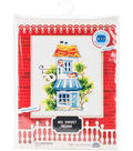 RTO Counted Cross Stitch Kit with Plywood Form-My Sweet Home III