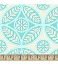 Blizzard Fleece Fabric 59\u0022-Floral Dot Cream