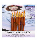 Silver Brush Limited The Art Sherpa 6 pk Detail Brushes