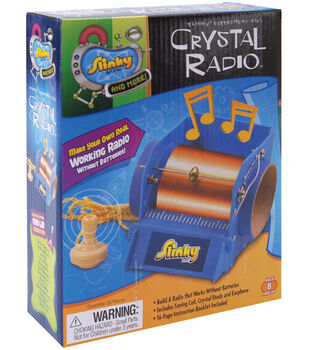 Educational kits learning kits for kids joann slinky crystal radio kit solutioingenieria Gallery