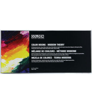 Golden Artist Colors Mixing Set-Modern Theory