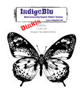 IndigoBlu Cling Mounted Stamp Flutterby-Dinkie