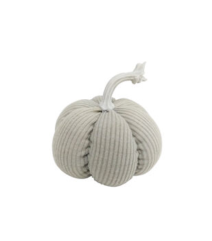Simply Autumn Small Ribbed Pumpkin-Sage Green